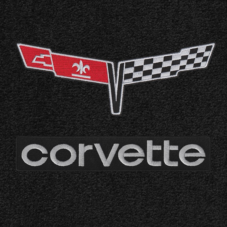 Period-correct Corvette logo floor mats | ClassicCars.com Journal