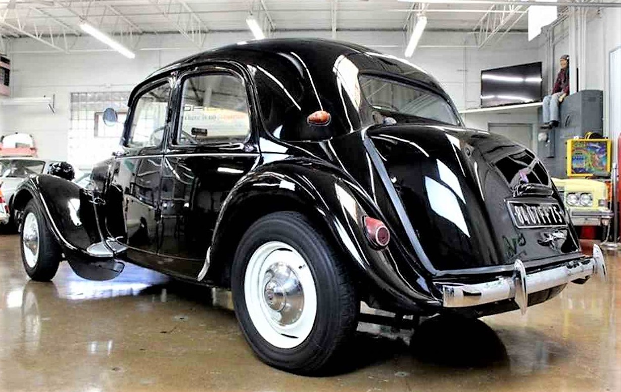 Quirky cool 1956 Citroen Traction Avant | ClassicCars.com Journal