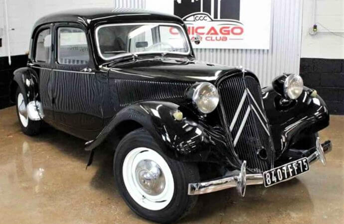 Quirky cool 1956 Citroen Traction Avant