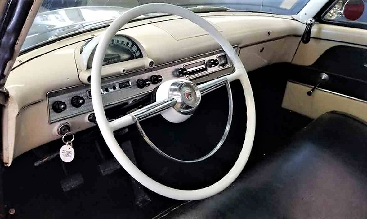 Visible-V8 1954 Ford Crestline Sunliner | ClassicCars.com Journal