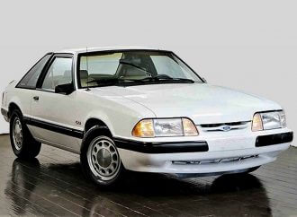 Foxy-looking 1987 Ford Mustang LX