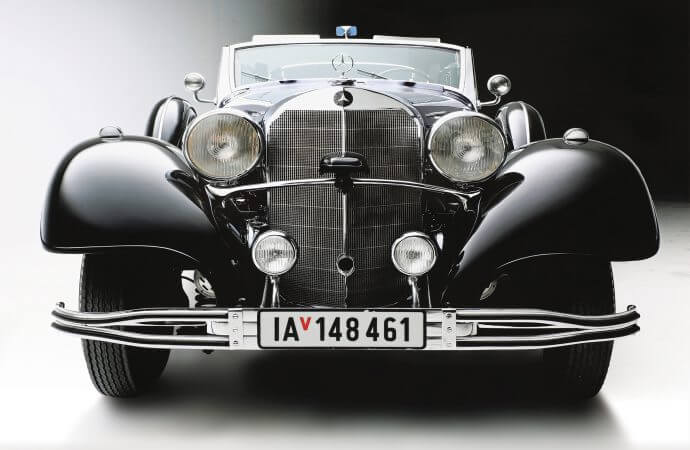 Ex-Hitler Mercedes to be offered at Worldwide's Scottsdale sale