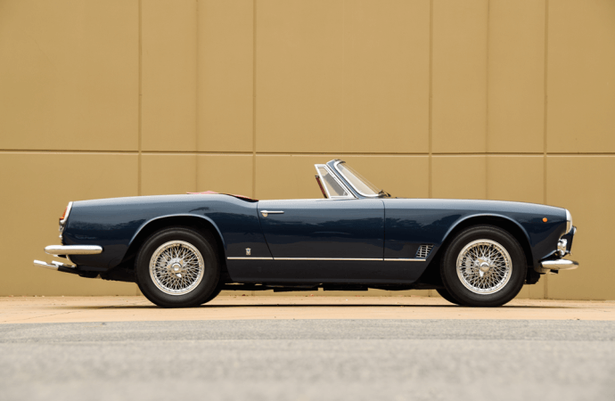 Barrett-Jackson Countdown: 1957 Maserati 3500 GT made for the road but inspired by the race track