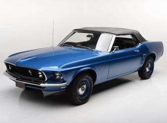 Barrett-Jackson Countdown: 1969 Ford Mustang 428