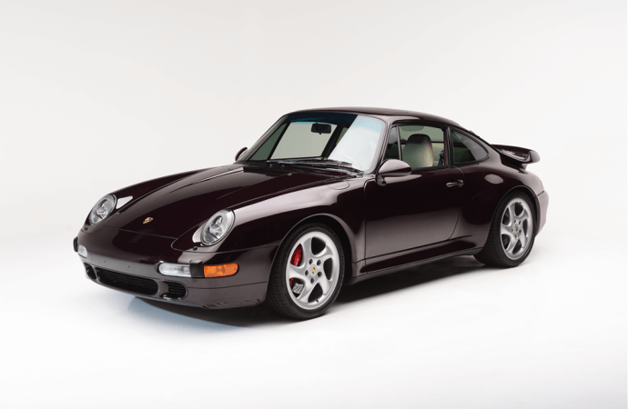 Barrett-Jackson Countdown: 1997 Porsche 911 Turbo