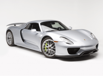 Barrett-Jackson Countdown: 918 Porsche Spyder the most advanced hybrid