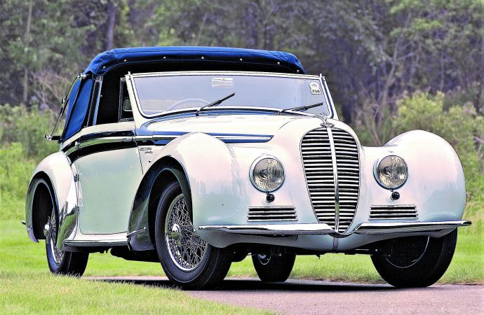 Classic coachbuilt '48 Delahaye on docket for Russo and Steele's Scottsdale auction