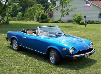 Award-winning 1980 Fiat 124 2000 Spider