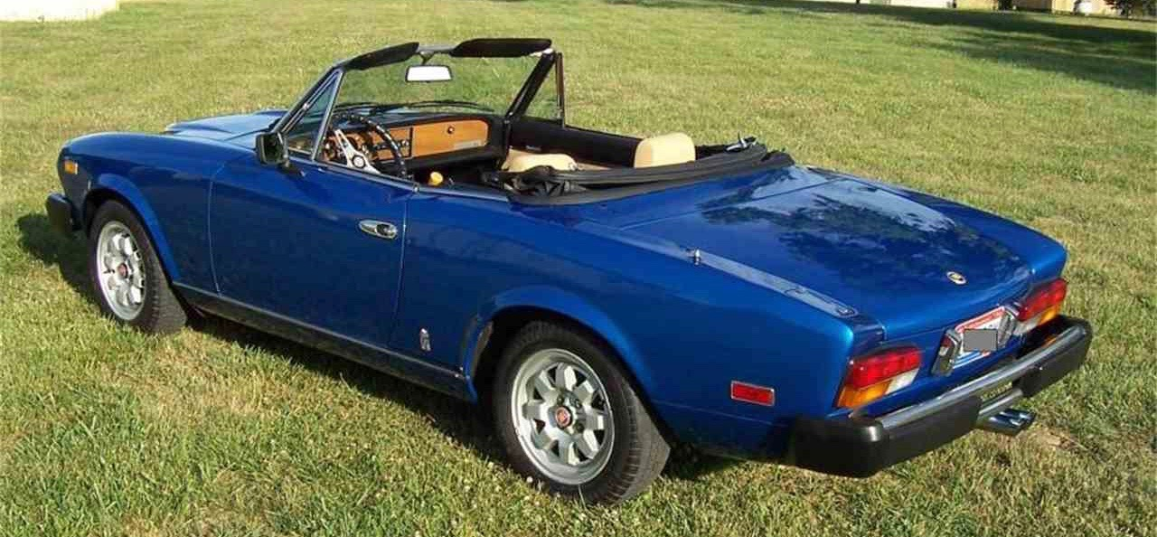 Award-winning 1980 Fiat 124 2000 Spider | ClassicCars.com Journal