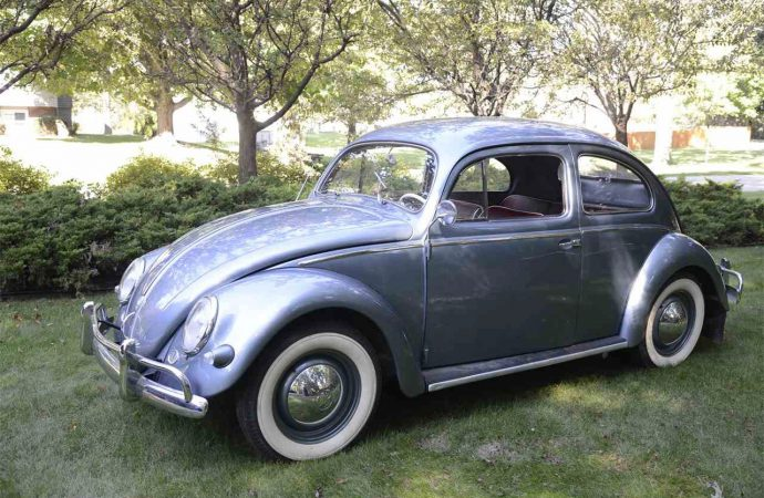 Fully restored but rarely driven 1957 VW Beetle