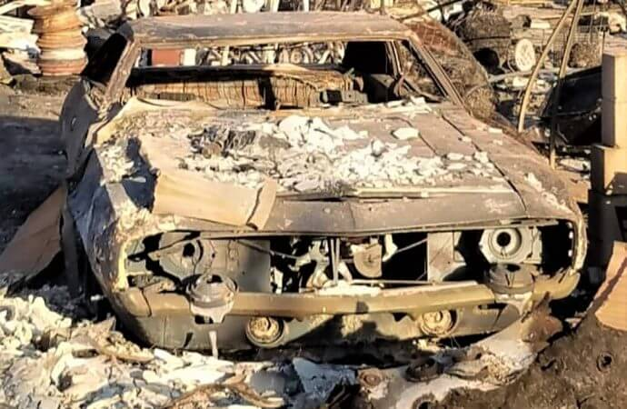 2017 fires and floods destroy collector cars