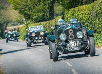 Bentley boys (and girls) set for 'Drive Out' event in January