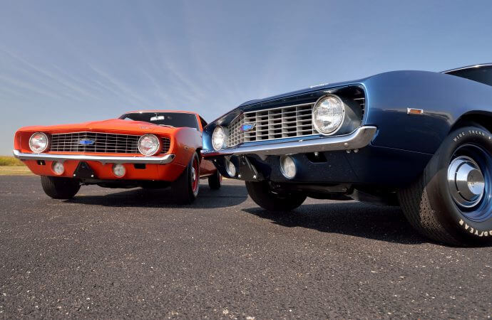 Pair of pairs is rare. Even more rare, Mecum announces a reserve price