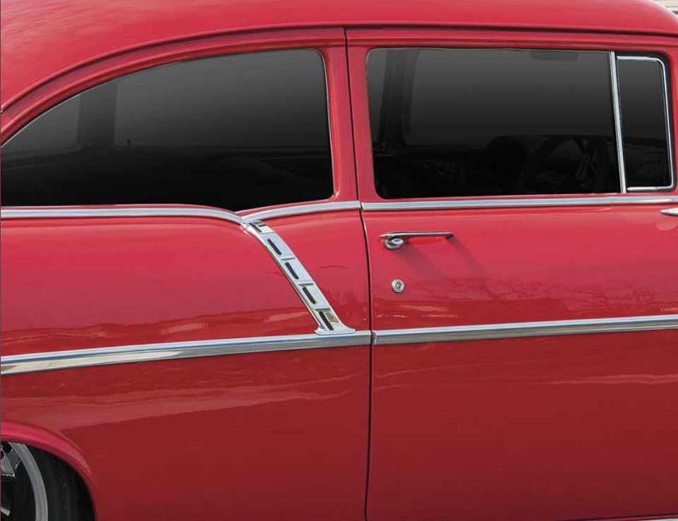 Tri-Five Chevy paint divider moldings | ClassicCars.com Journal