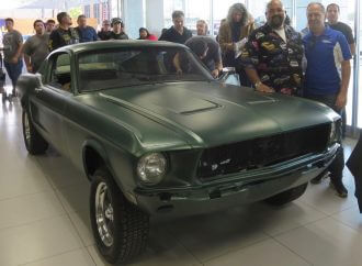 Auto archeology: Bullitt-movie Mustang re-emerges