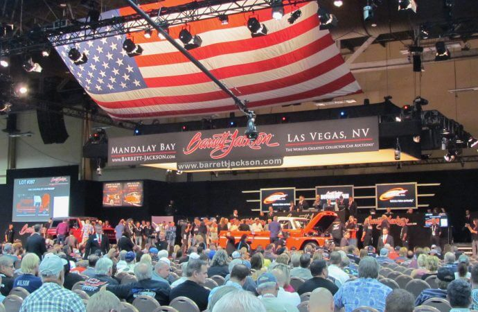 Las Vegas emerges as a major auction venue