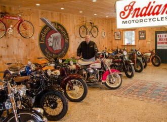 American motorcycle collection headed to auction