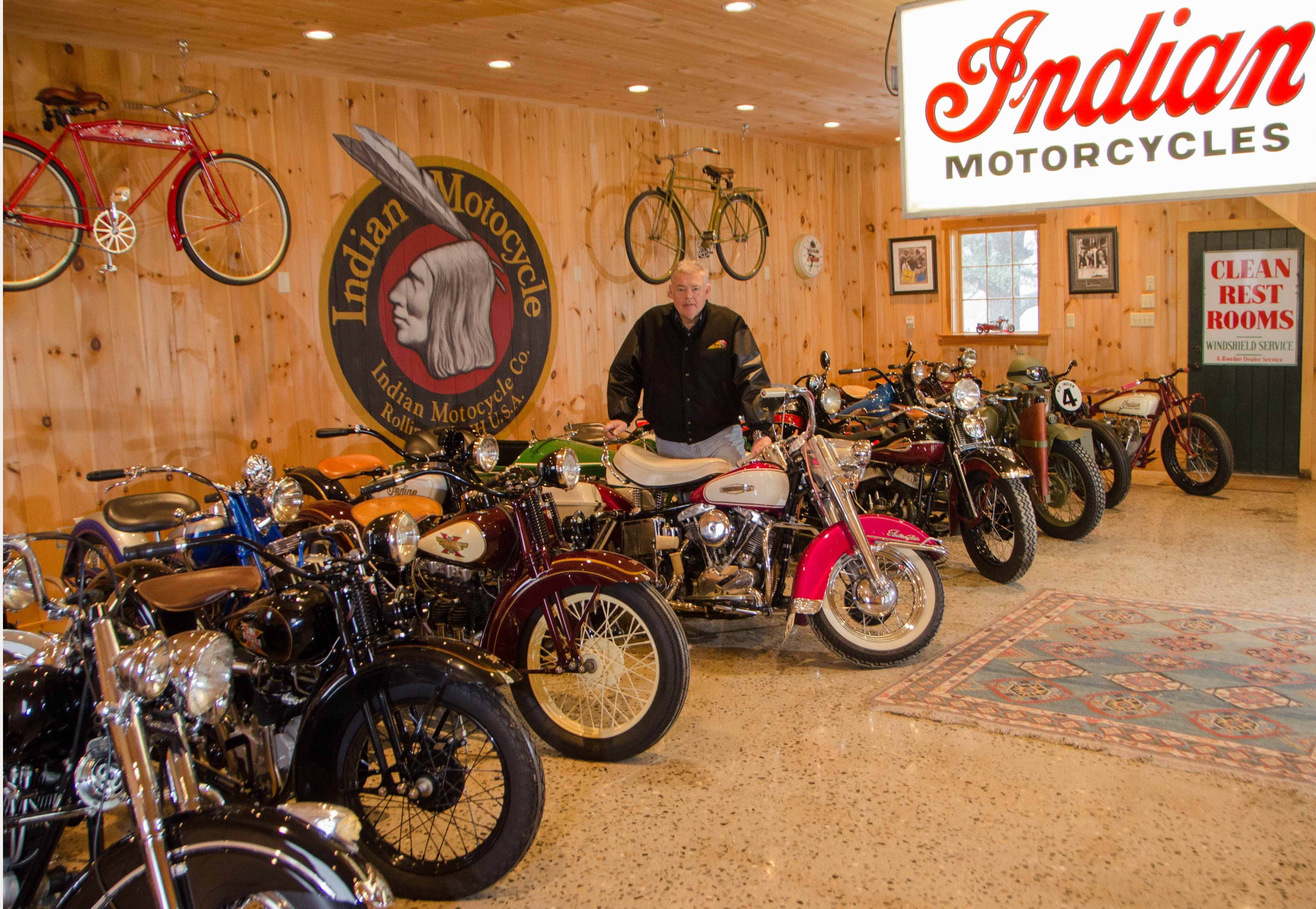 American motorcycle collection headed to auction | ClassicCars.com