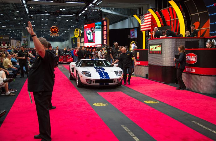 3,600-mile Ford GT leads the way at Mecum's Kansas City auction