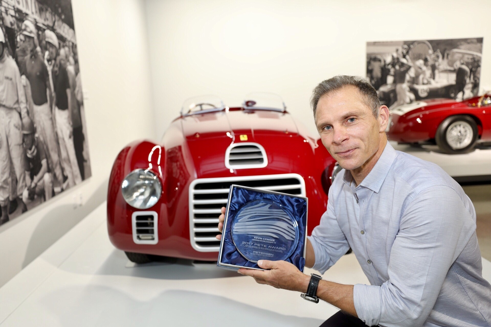 Augmented reality brings Petersen Museum vehicle exhibits to life