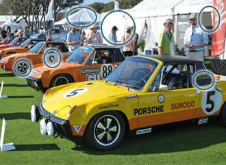 Spot the Difference Answer Key: Amelia Island Concours 2015