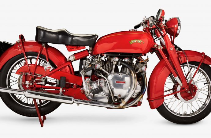 Motorcycles starring in Bonhams' Vegas auction include British royalty