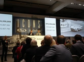 Icons auction had numbers, but lacked energy