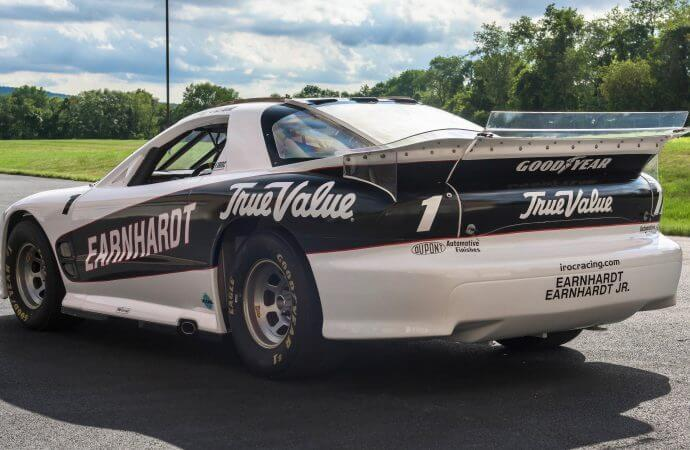 Unusual bidding format features IROC racing cars