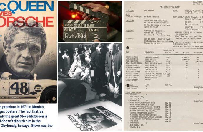 Family photos and freely told stories of the making of 'Le Mans,' and of its star Steve McQueen