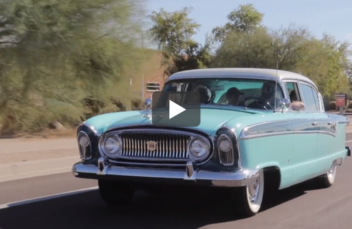 A dying wish for one last ride in a 1956 Nash Ambassador