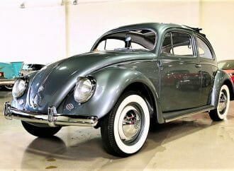 Early oval-window 1954 VW Beetle