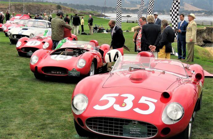 At age 70, Ferrari throws worldwide party