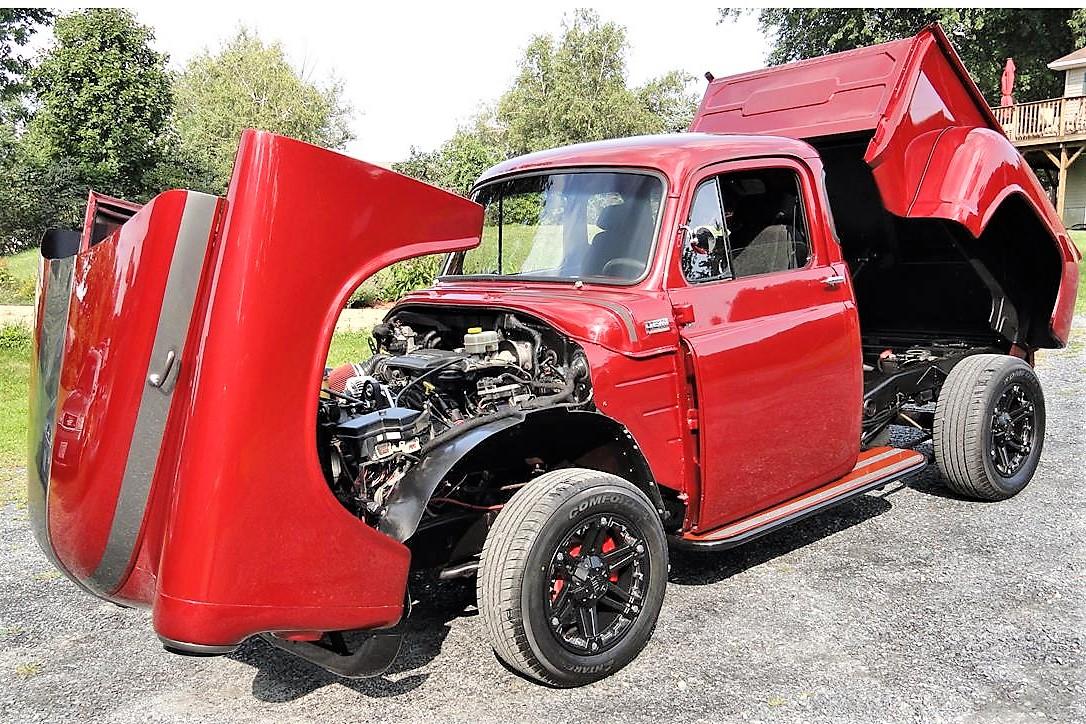 Full-tilt 1954 Dodge custom pickup | ClassicCars com Journal
