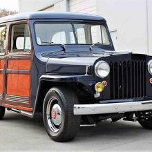 Resto-mod 1950 Willys Jeep wagon