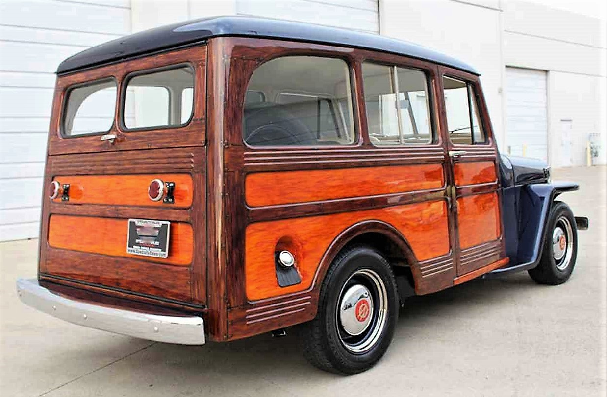 Resto-mod 1950 Willys Jeep wagon | ClassicCars.com Journal