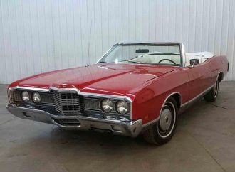 From dealer's estate: 66K-mile 1972 Ford LTD convertible