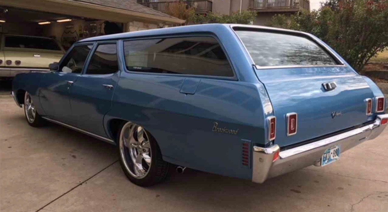 All Chevy chevy c10 20 wheels Customized 1970 Chevrolet Brookwood station wagon - ClassicCars ...