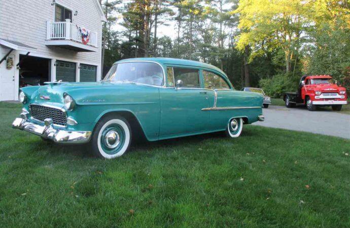 'Barn-found' 1955 Chevrolet 210