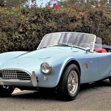 Totally authentic 1964 Shelby Cobra 289