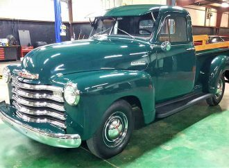 Upgraded 1952 Chevrolet 3100 pickup