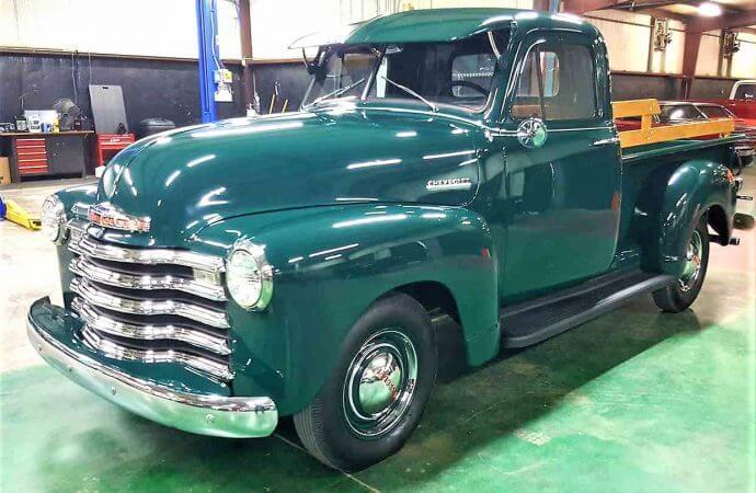 Upgraded 1952 Chevrolet 3100 pickup