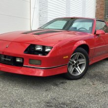 1985 IROC Camaro Z28 has had only one owner