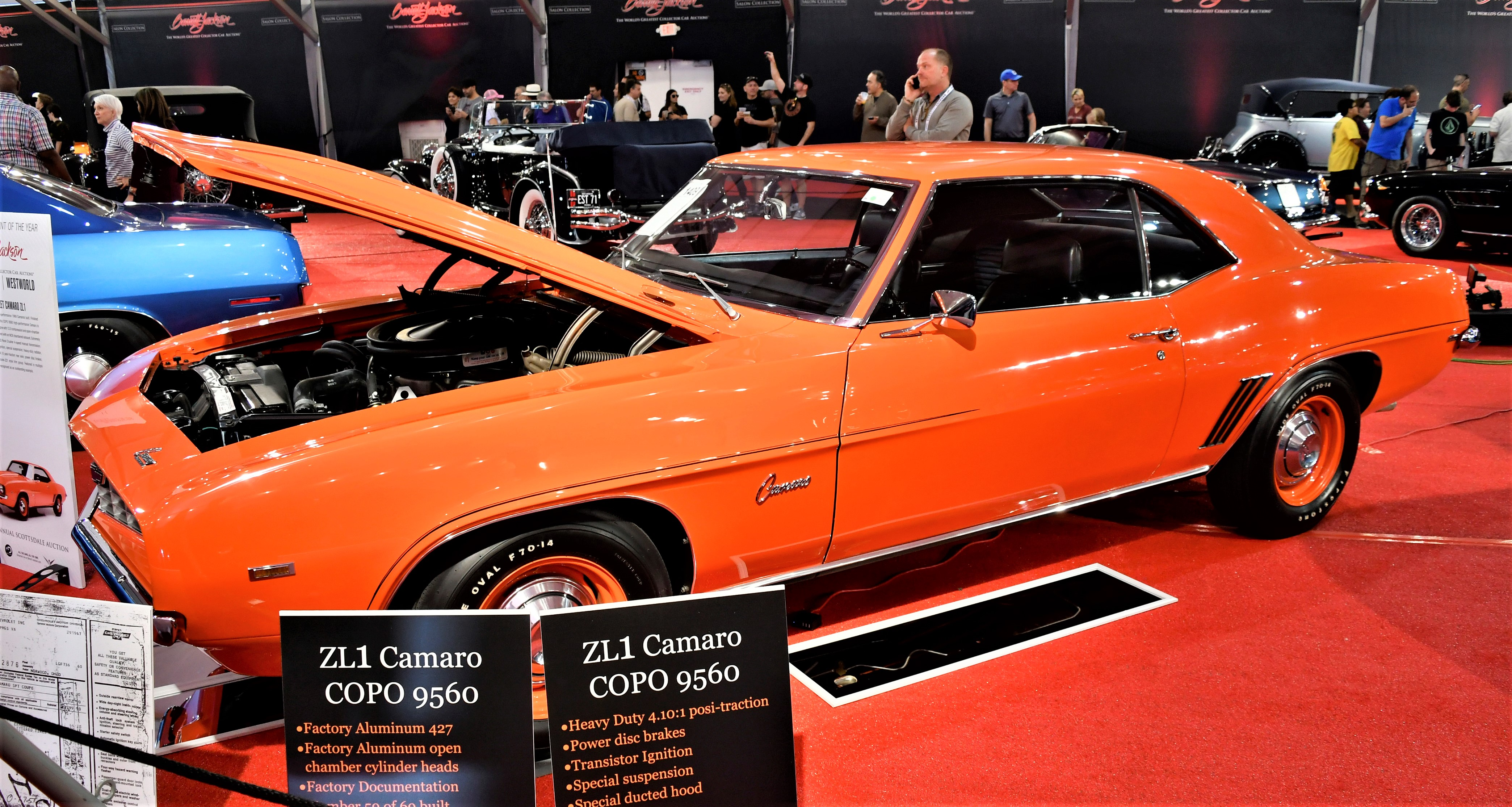 , Top-dog muscle cars ready for action at Barrett-Jackson in Scottsdale, ClassicCars.com Journal