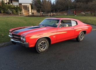 Barrett-Jackson Countdown: 1970 Chevrolet Chevelle LS6