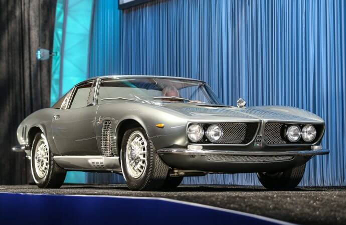 Stunning Iso Grifo prototype surprises and delights at Gooding sale
