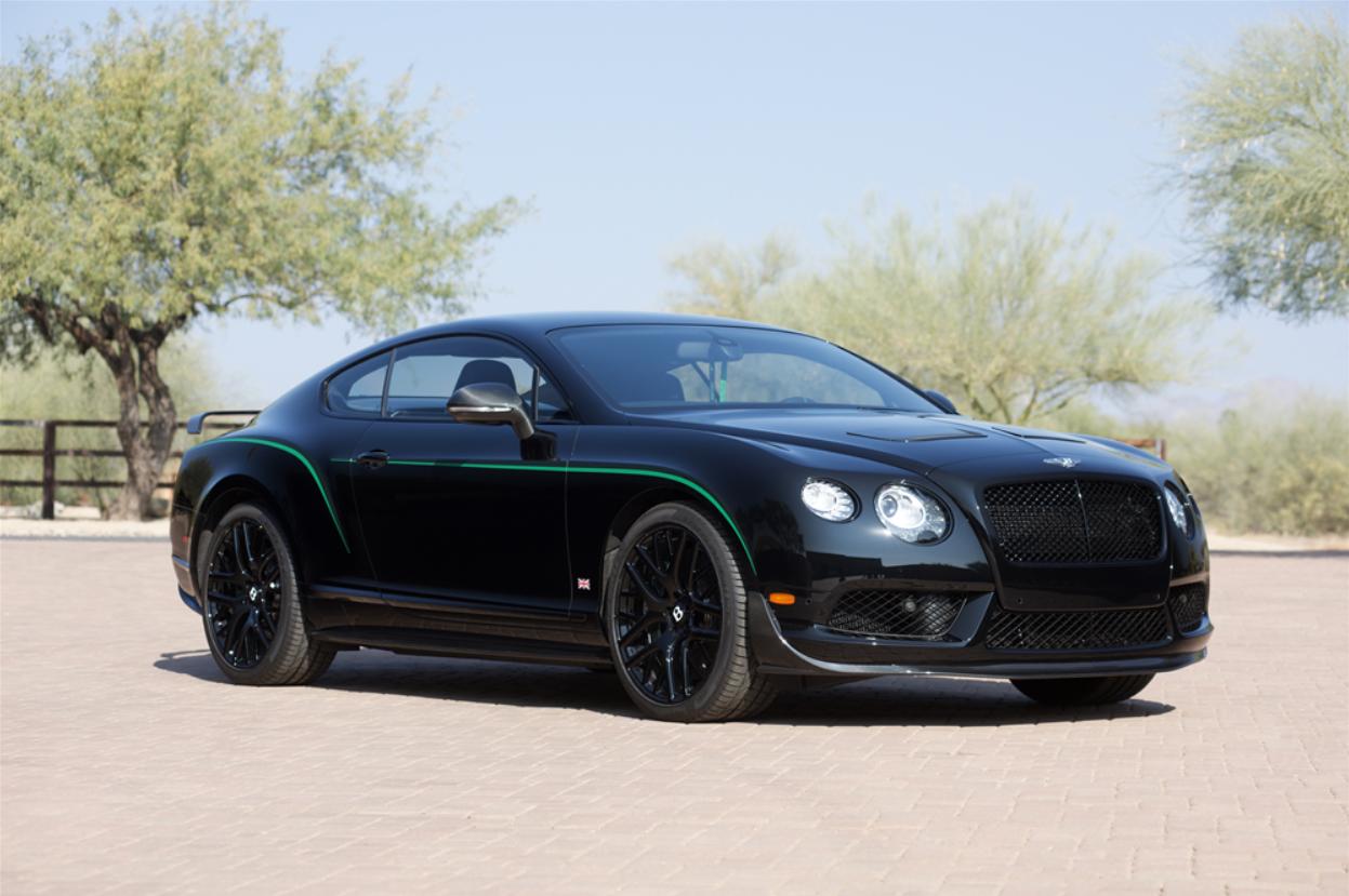 Barrett-Jackson Countdown: 2015 Bentley Continental GR3-R