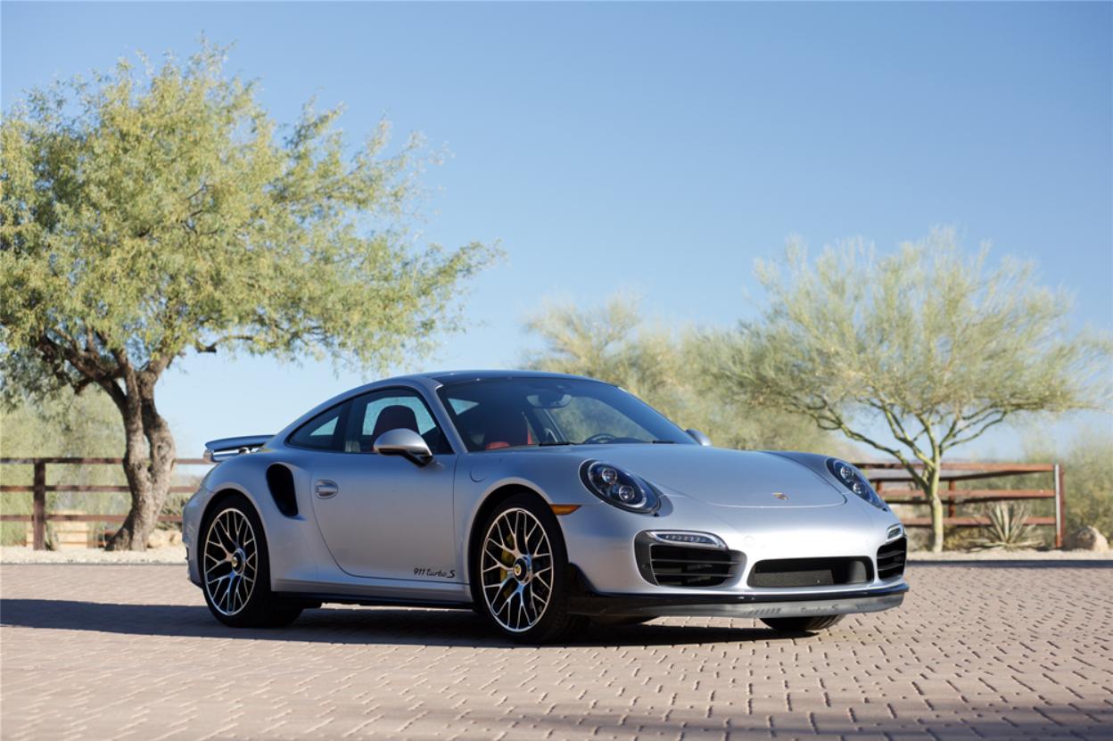 Barrett-Jackson Countdown: 2016 Porsche 911 Turbo S | ClassicCars.com