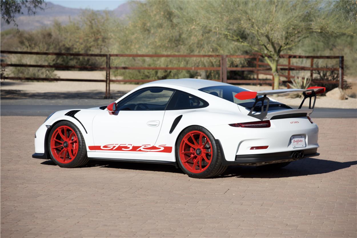 Barrett-Jackson Countdown: 2016 Porsche GT3 RS   ClassicCars.com