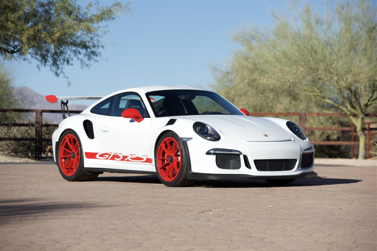 barrett jackson countdown 2016 porsche gt3 rs. Black Bedroom Furniture Sets. Home Design Ideas