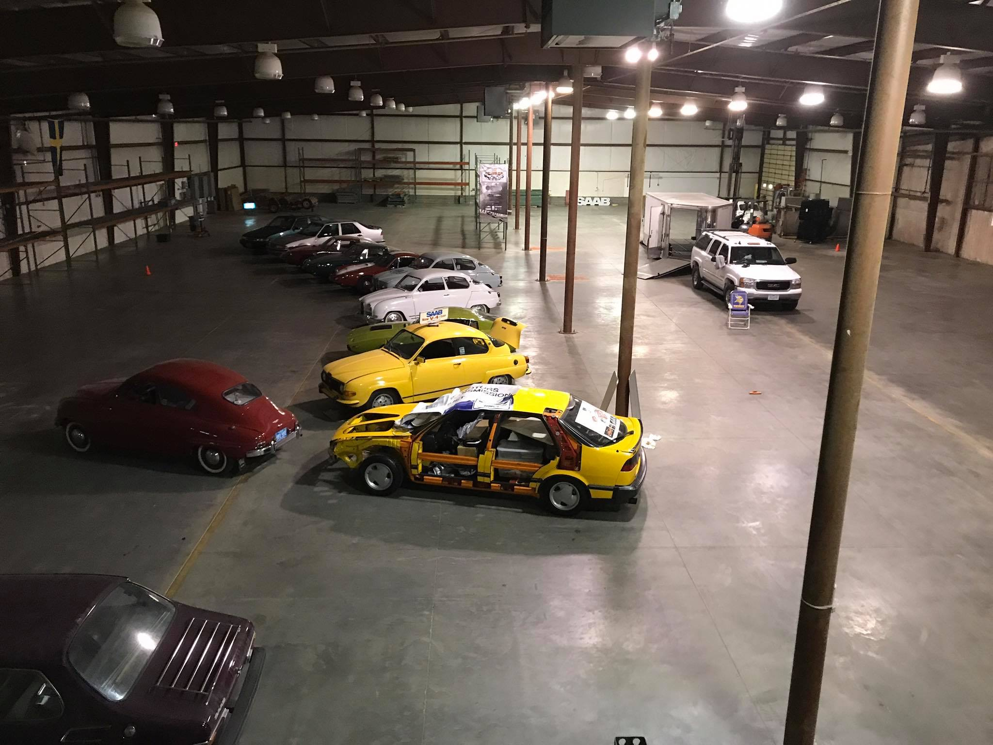 Saab collection spawns a museum in South Dakota | ClassicCars.com